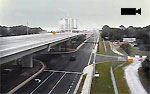 Traffic camera view of Bay County roads