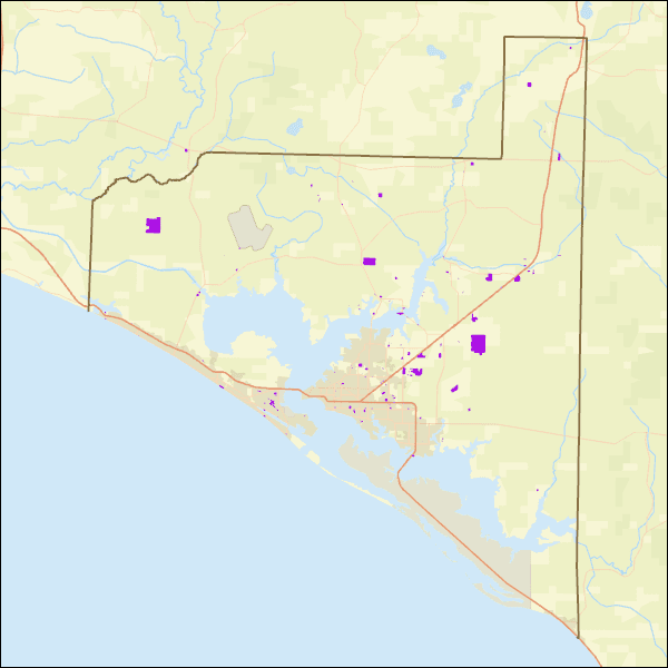 Bay County Owned Property